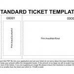 Free Printable Raffle Tickets Template | Template | Ticket Template   Free Printable Raffle Tickets With Stubs