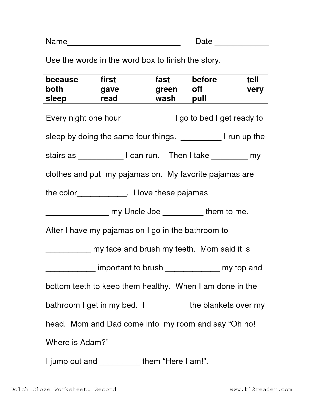 Free Printable Reading Comprehension Worksheets 3Rd Grade To - Free Printable Comprehension Worksheets For Grade 5