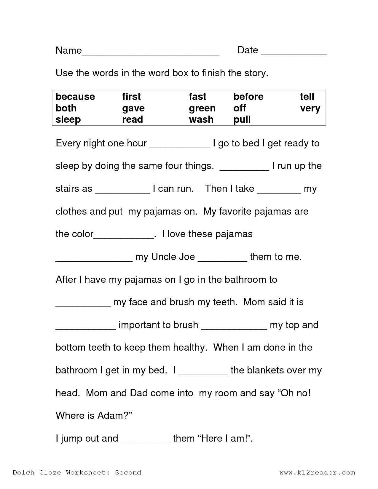 Free Printable Reading Comprehension Worksheets 3Rd Grade To Print - Free Printable Reading Comprehension Worksheets