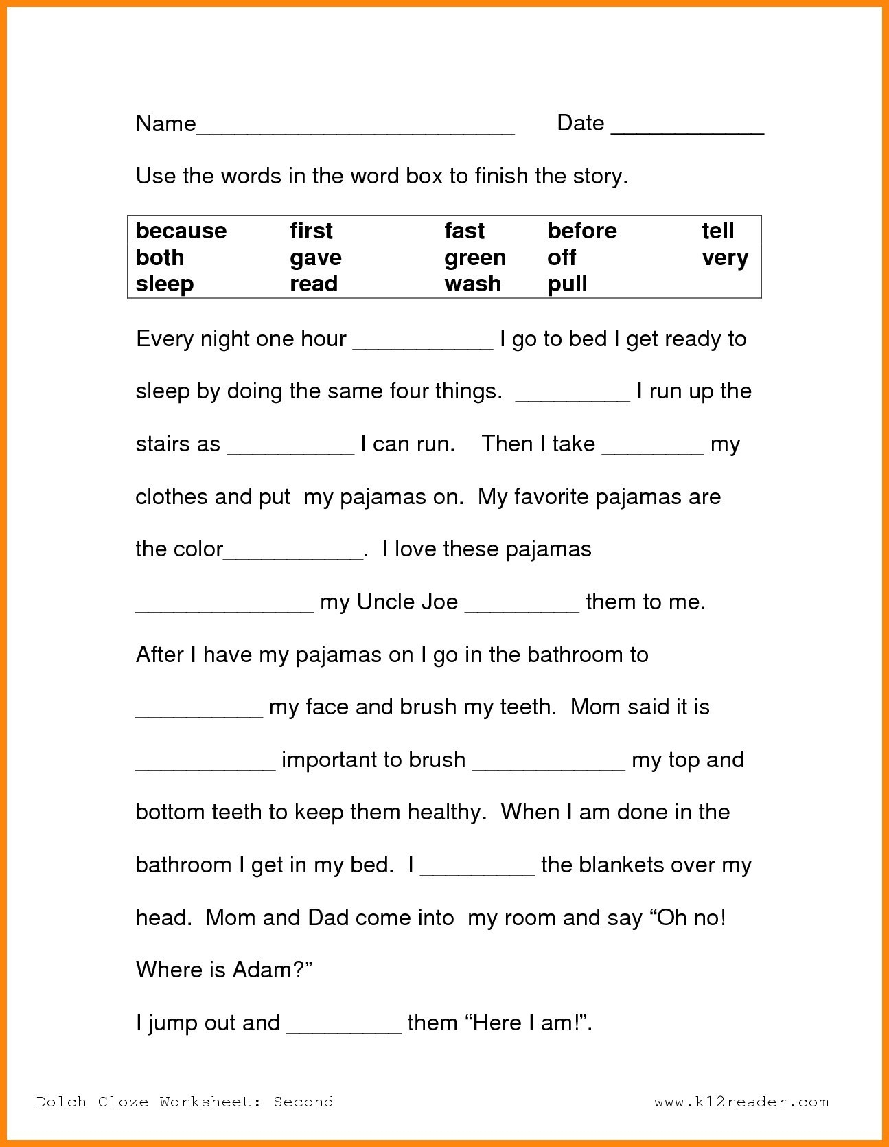 Free Printable Reading Worksheets For 2Nd Grade Lovely Reading - Free Printable Reading Games For 2Nd Graders