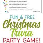 Free Printable Religious Christmas Trivia Games – Festival Collections   Free Printable Religious Christmas Games