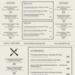 Free Printable Restaurant Menu Templates Resume And   Mysembalun   Free Printable Restaurant Menu Templates