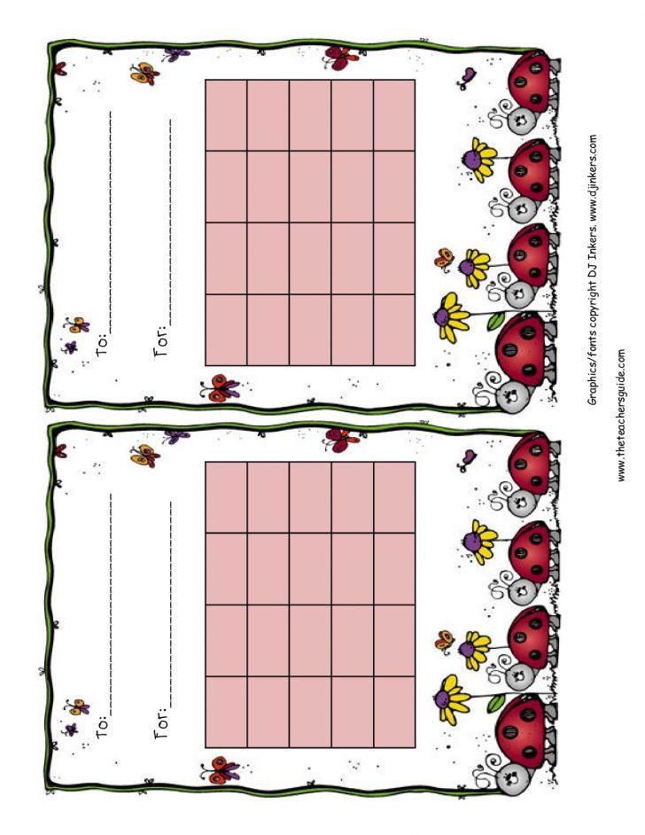 Free Printable Charts For Classroom