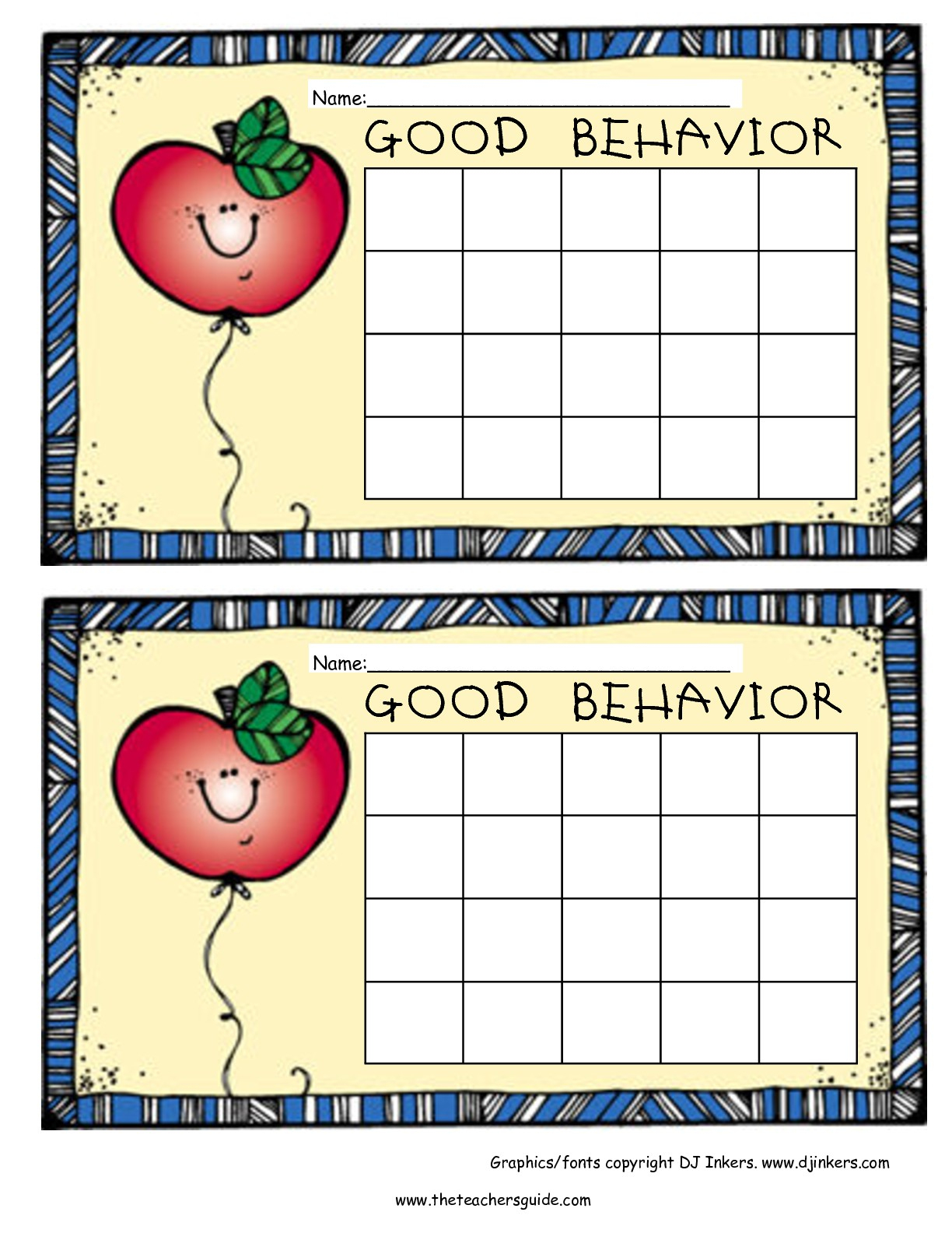 Free Printable Reward And Incentive Charts - Free Printable Sticker Charts