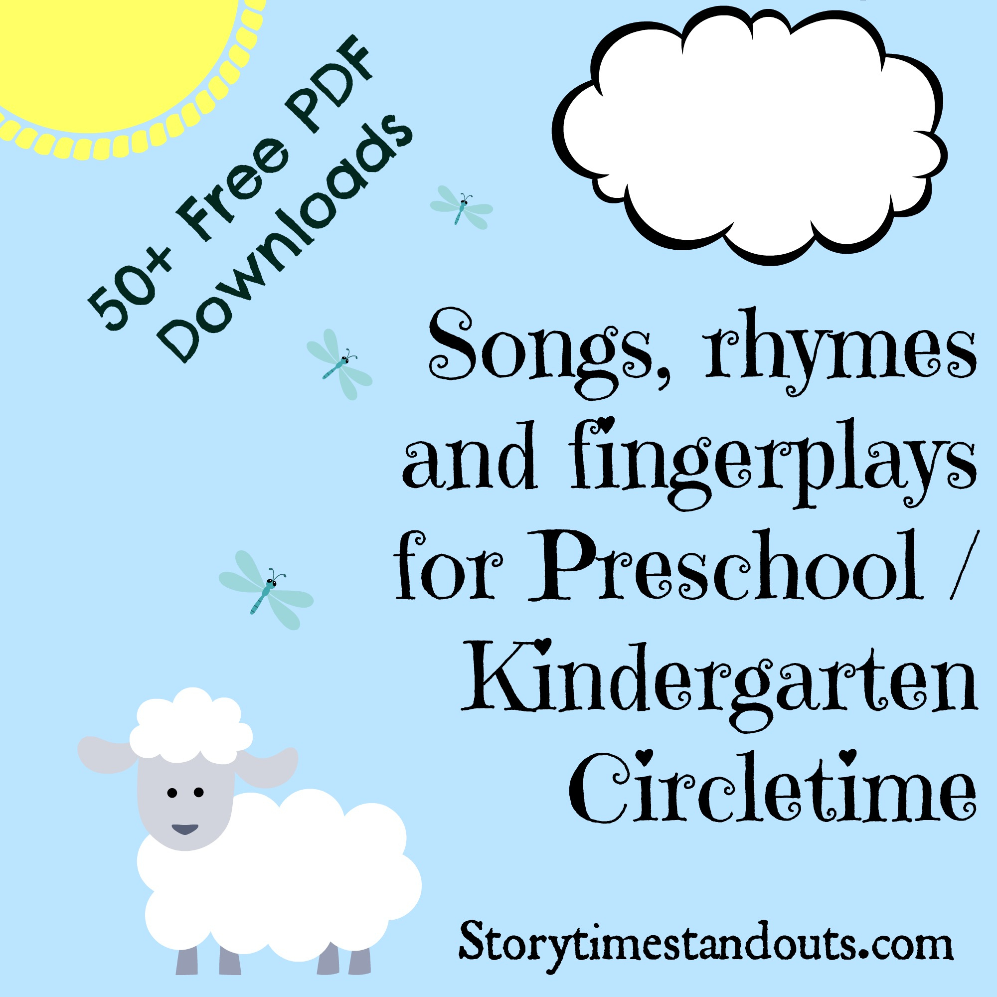 Free Printable Rhymes, Songs, Chants And Fingerplays - Free Printable Nursery Rhymes Songs