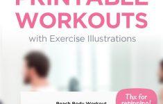 Free Printable Gym Workout Routines