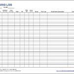 Free Printable Running Log Or Walking Log Template For Excel Within   Free Printable Walking Log