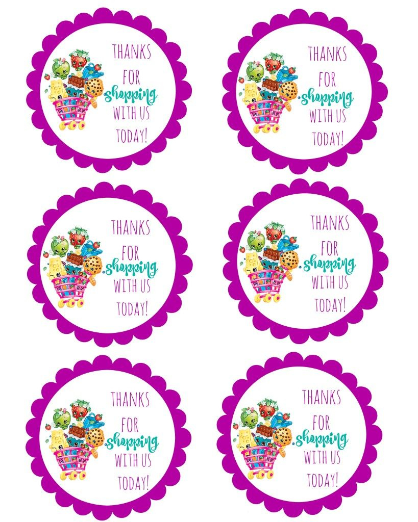 Free Printable S Hopkins Thank You For Coming Tags - 9.7 - Thank You For Coming Free Printable Tags