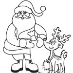 Free Printable Santa Coloring Pages For Kids | Cool2Bkids   Santa Coloring Pages Printable Free
