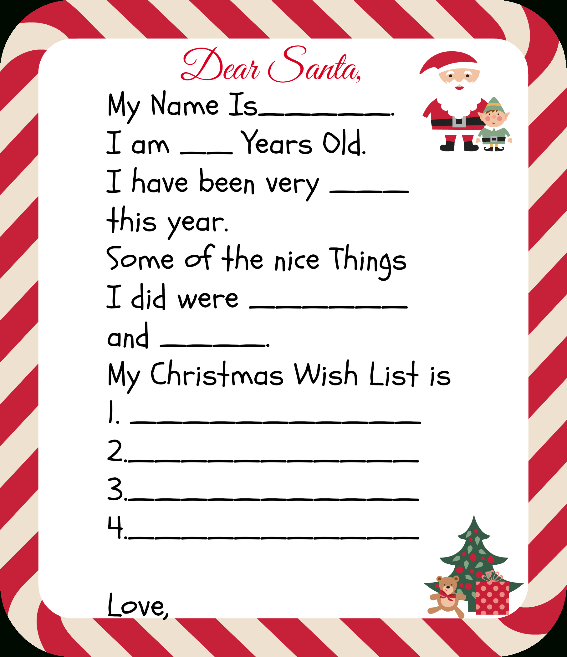 Free Printable Santa Letters For Kids - Free Printable Christmas Letters From Santa