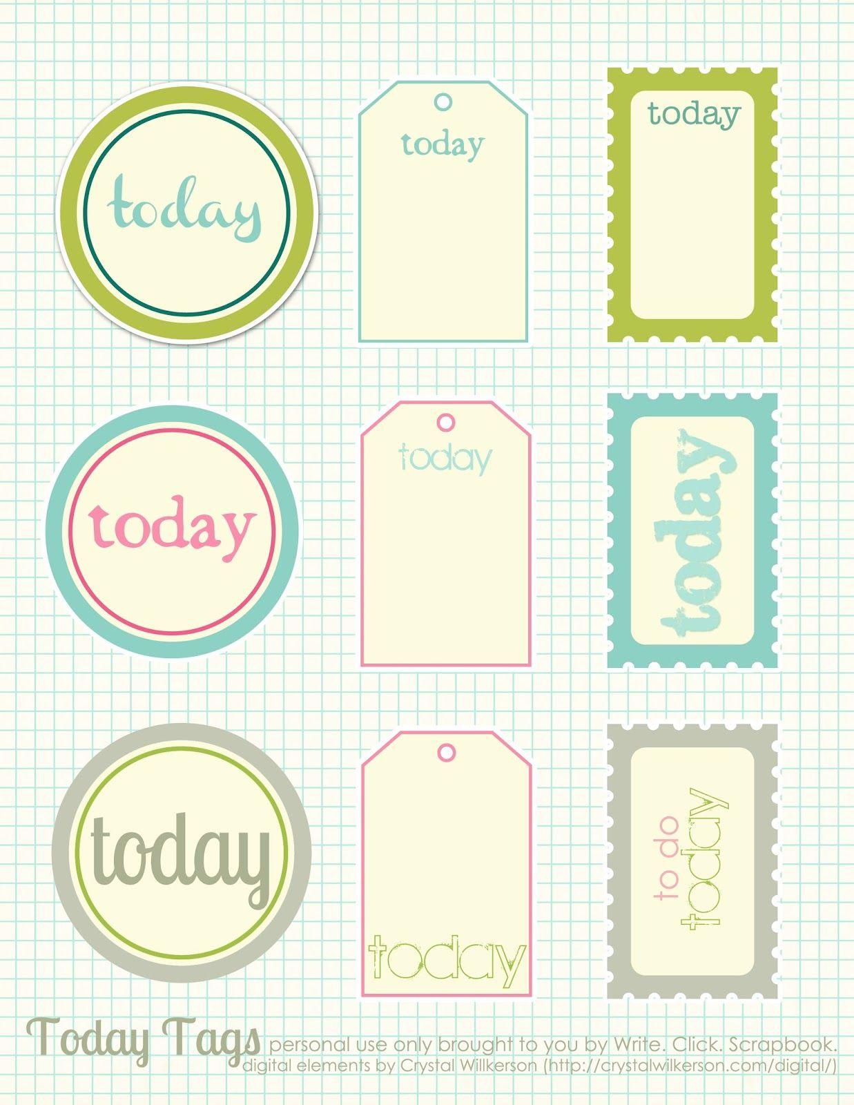 Free Printable Scrapbook Cutouts | Printable For All Topics - Free Printable Scrapbook Page Designs