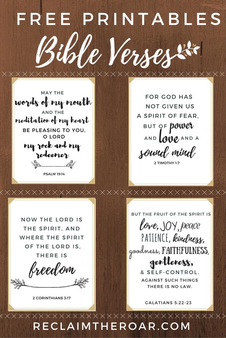 Free Printable Scriptures | Words | Pinterest | Printable Bible - Free Printable Inspirational Bible Verses