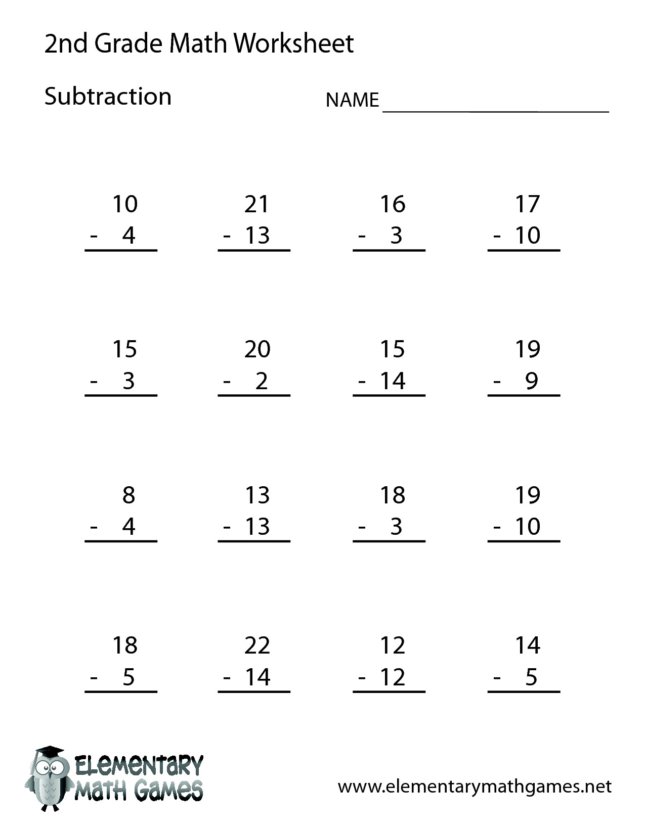 Free Printable Second Grade Worksheets For Download Free - Math - Free Printable Second Grade Worksheets