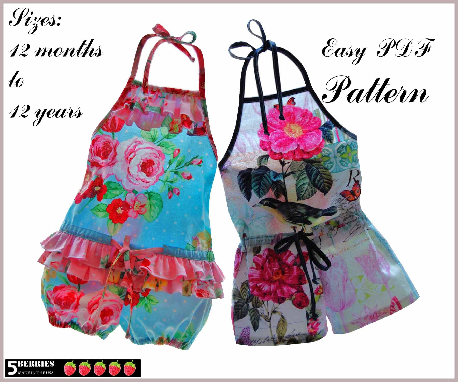 Free Printable Sewing Patterns   Romper Sewing Patterns – Catalog Of - Free Printable Sewing Patterns For Kids