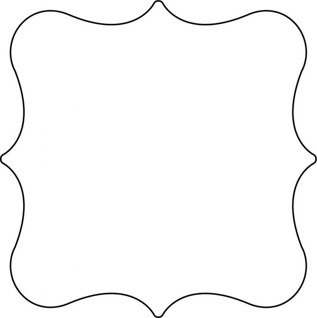 Free Printable Shape Templates   Invitations   Shape Templates - Free Printable Shapes Templates