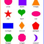 Free Printable Shapes Chart | Free Printable For Learning Basics   Free Printable Shapes