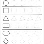 Free Printable Shapes Worksheets For Toddlers And Preschoolers   Free Printable Shapes