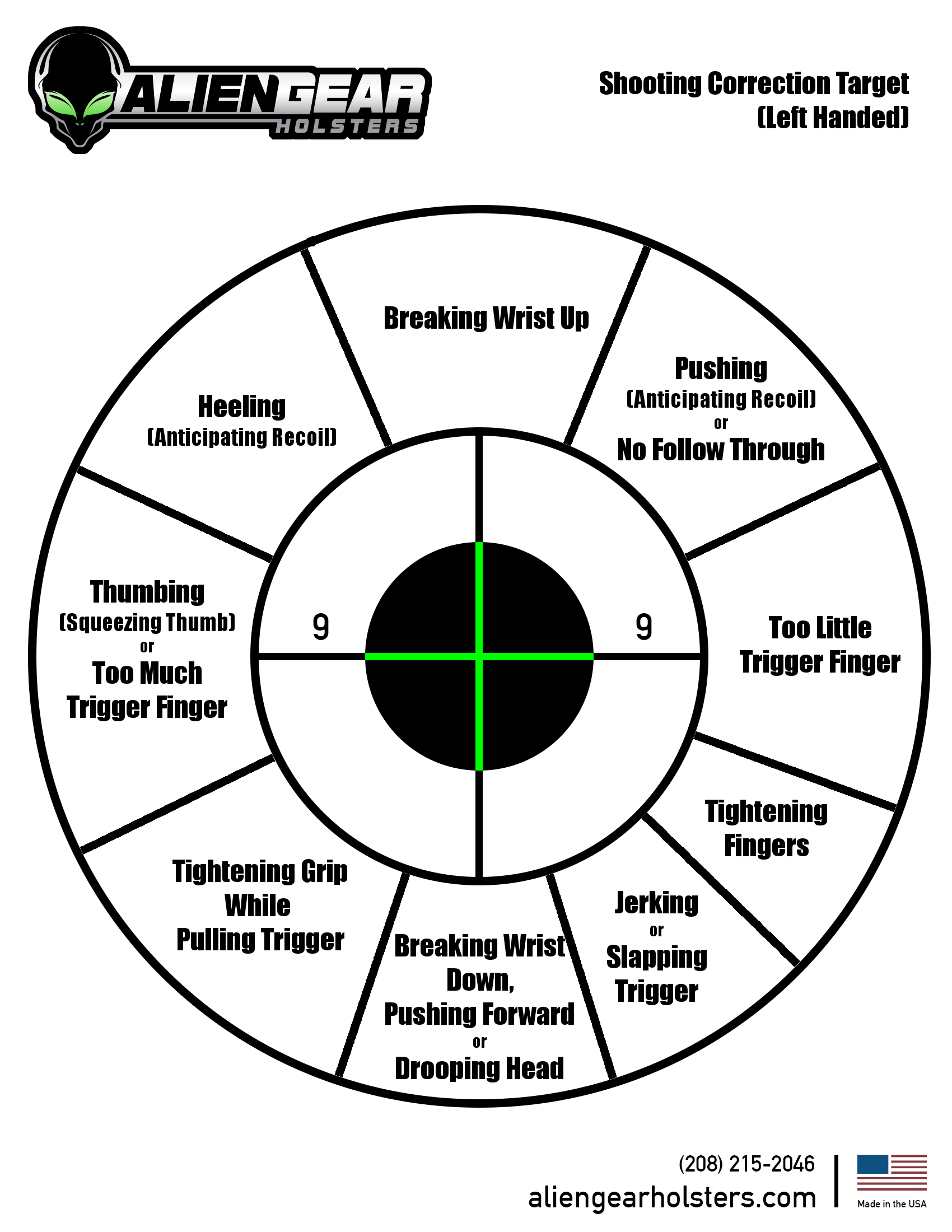 Free Printable Shooting Targets - Free Printable Targets