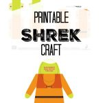 Free Printable Shrek Craft | Diy | Shrek, Free Printables, Crafts   Free Printable Crafts
