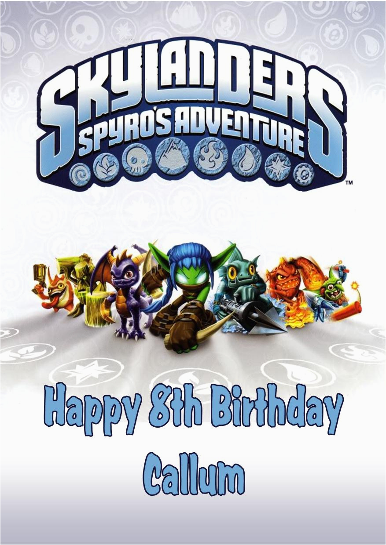 Free Printable Skylanders Birthday Invitations | Birthdaybuzz - Free Printable Skylander Invitations