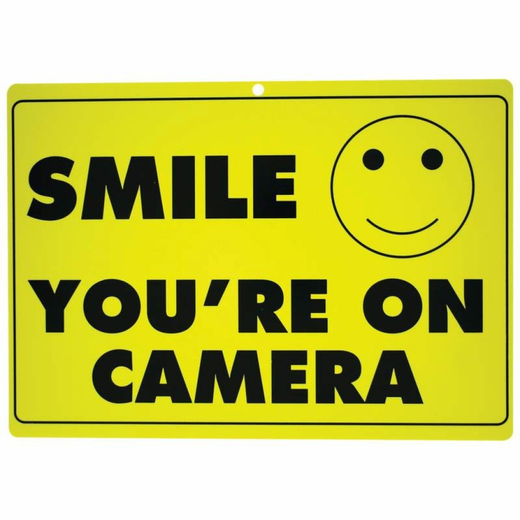 Free Printable Smile Your On Camera | Free Printable - Free Printable Smile Your On Camera