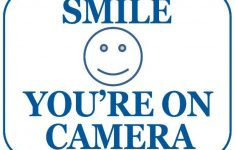 graphic relating to Smile You're on Camera Sign Printable named Cost-free Printable Smile Your Upon Digital camera Indicator Cost-free Printable