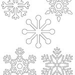 Free Printable Snowflake Templates – Large & Small Stencil Patterns   Free Printable Cookie Stencils