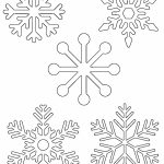 Free Printable Snowflake Templates – Large & Small Stencil Patterns   Free Printable Stencils