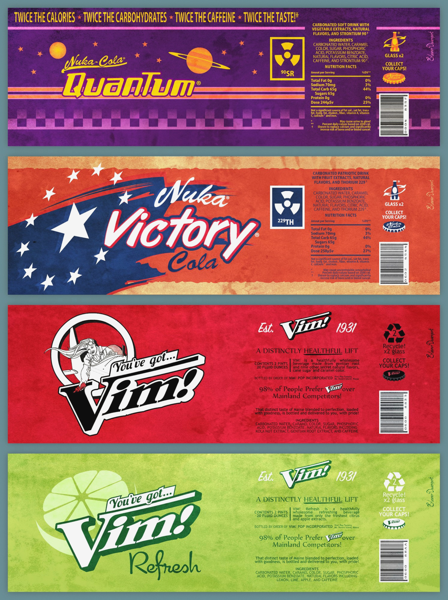 Free Printable Soda Vending Machine Labels Fallout Soda Labels I Got - Free Printable Vending Machine Labels