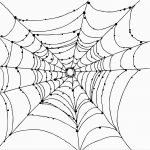Free Printable Spider Web Coloring Pages For Kids For Coloring Pages   Free Printable Spider Web
