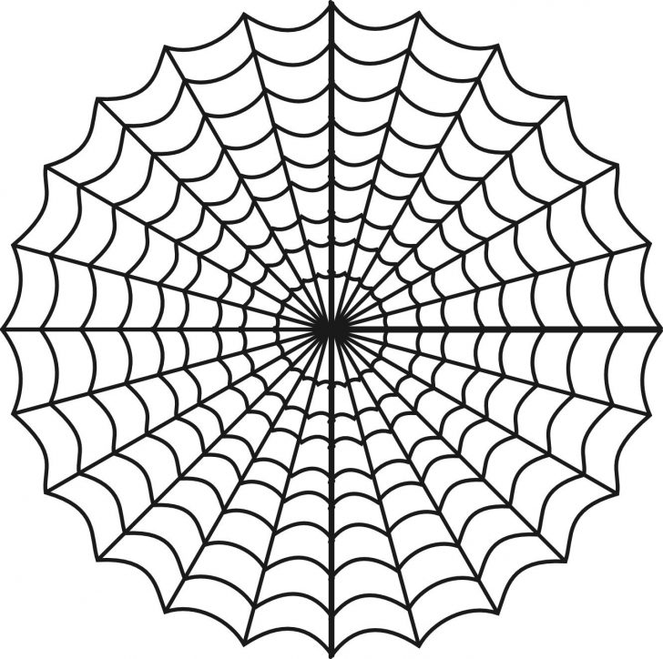 Free Printable Spider Web