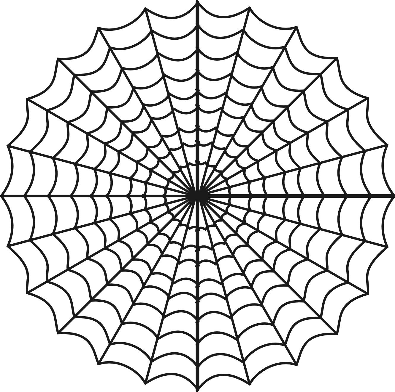 Free Printable Spider Web Coloring Pages For Kids Inside | Me - Spider Web Stencil Free Printable