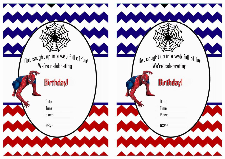 Free Printable Spiderman Birthday Invitations • Free-Printables - Free Printable Spiderman Pictures
