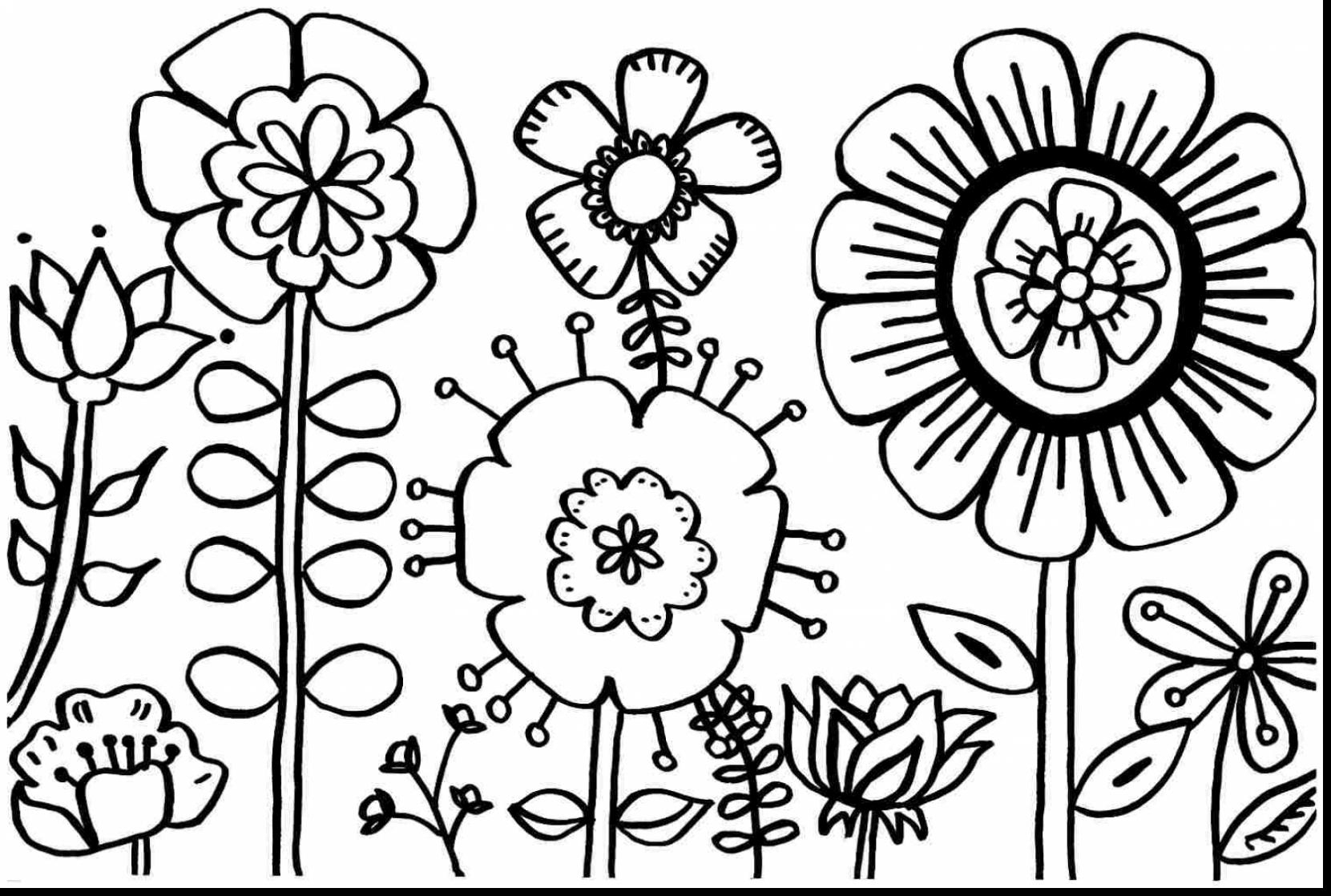 Free Printable Spring Coloring Pages | All Coloring Pages - Free Printable Spring Pictures To Color