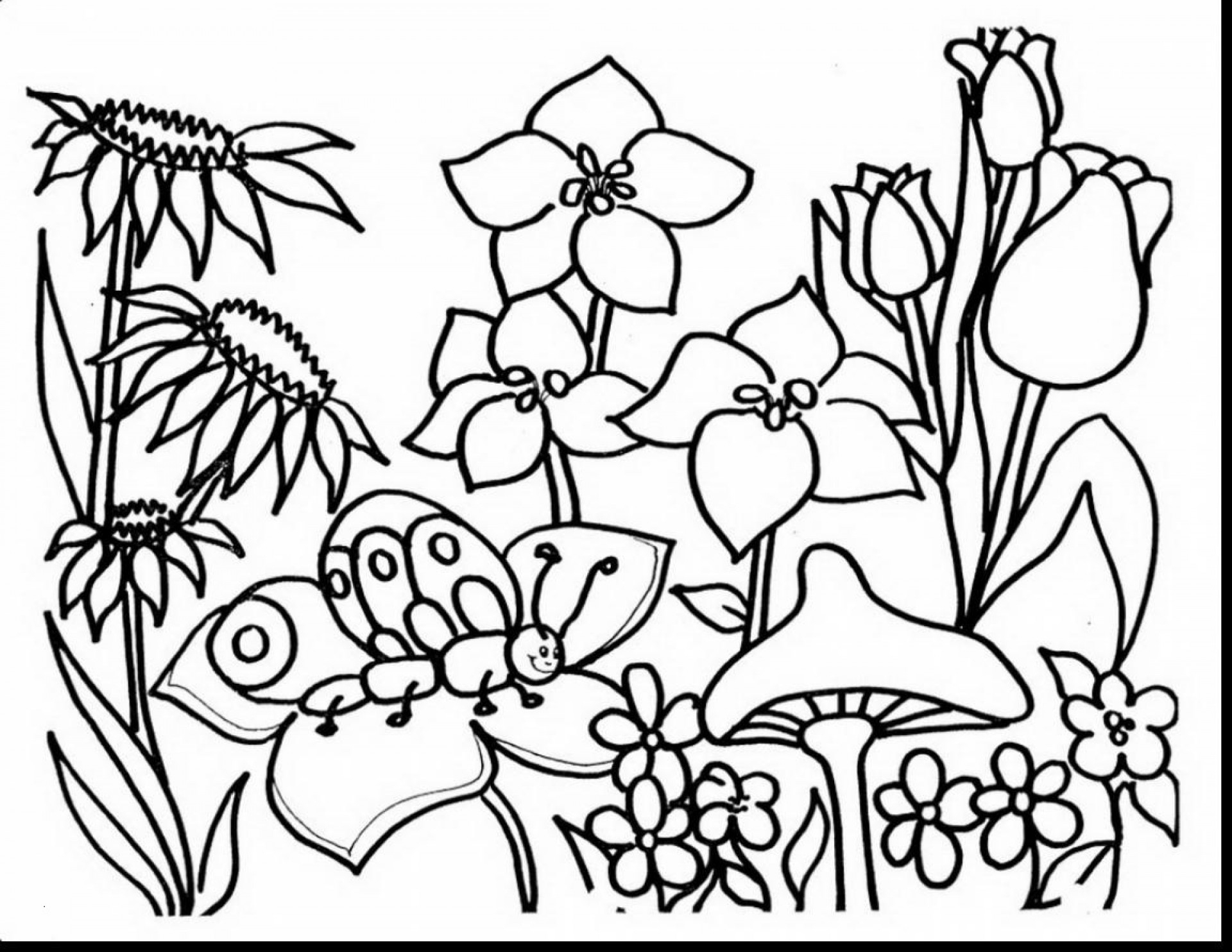 Free Printable Spring Coloring Pages New Heathermarxgallery Of For - Spring Coloring Sheets Free Printable