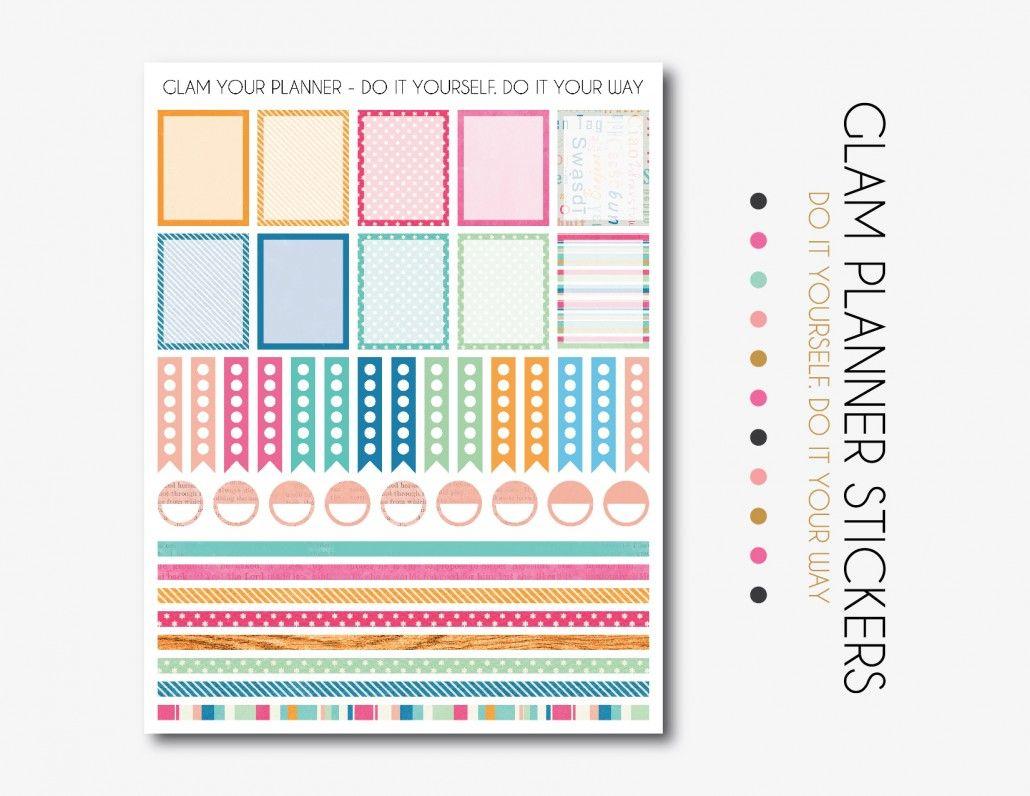 Free Printable Spring Planner Stickersglam Planner Stickers - Free Printable Planner Stickers