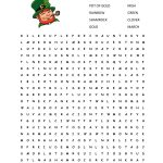 Free Printable St Patrick Day Worksheets   Siteraven   Free Printable St Patrick Day Worksheets