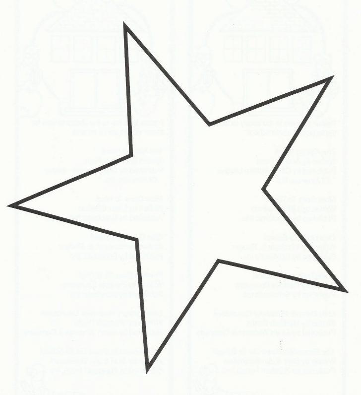 Free Printable Stars