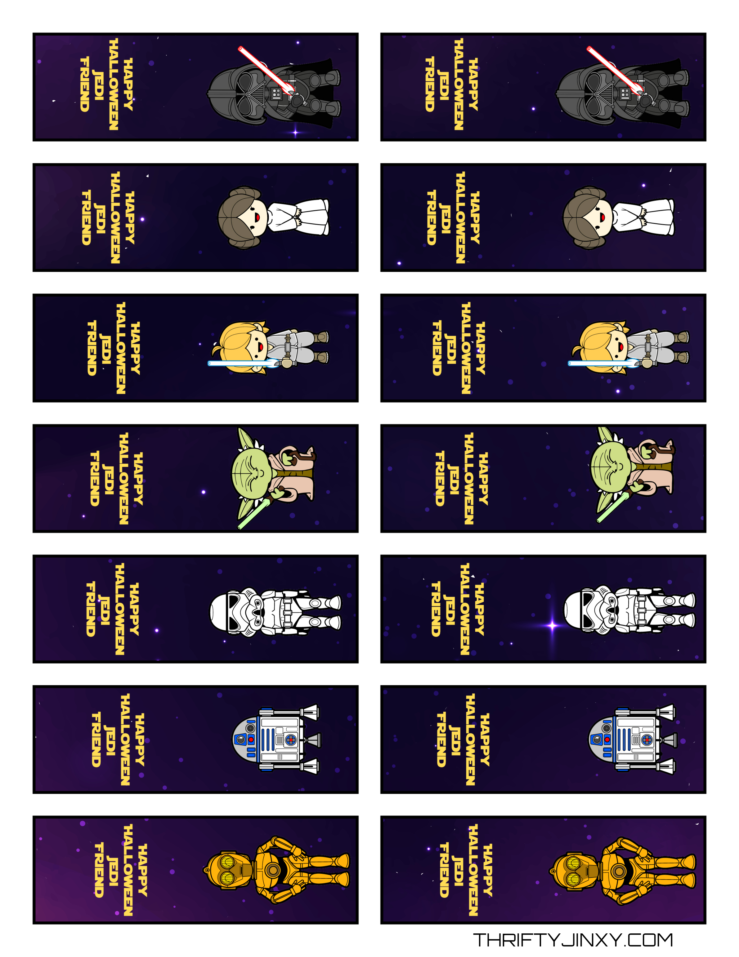 Free Printable Star Wars Halloween Tic Tac Labels - Thrifty Jinxy - Free Printable Tic Tac Labels