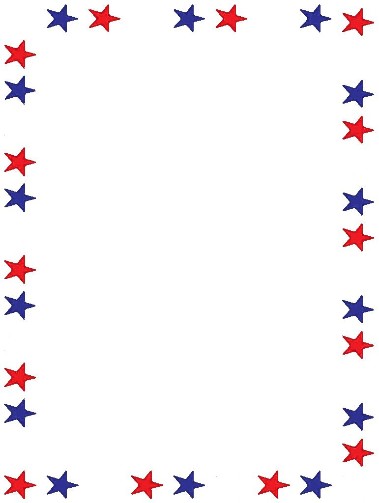 Free Printable Stationery, Free Online Writing Paper | Boarders - Free Printable Patriotic Writing Paper