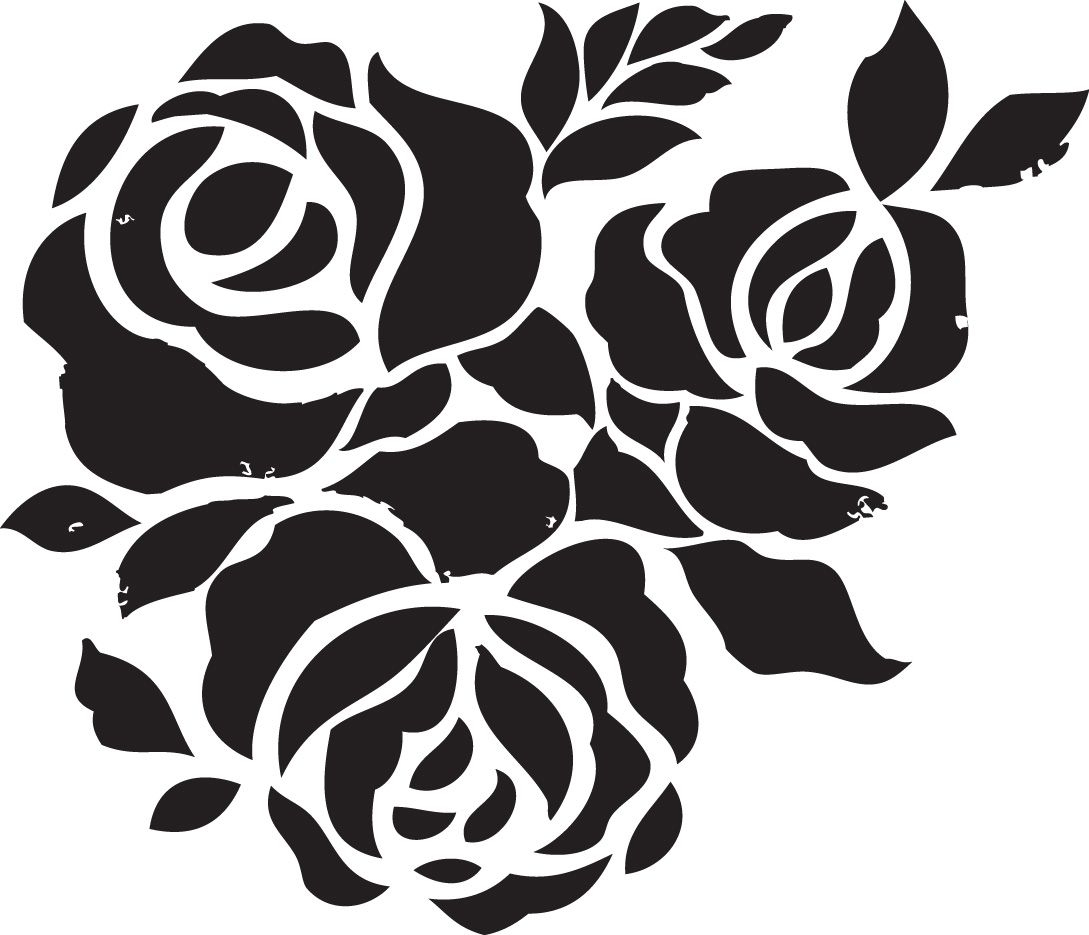 Free Printable Stencils For Painting T Shirt | Stencils Designs Free - Free Printable Flower Stencils