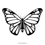 Free Printable Stencils In Lots Of Different Categories. Lots Of   Free Printable Butterfly Cutouts