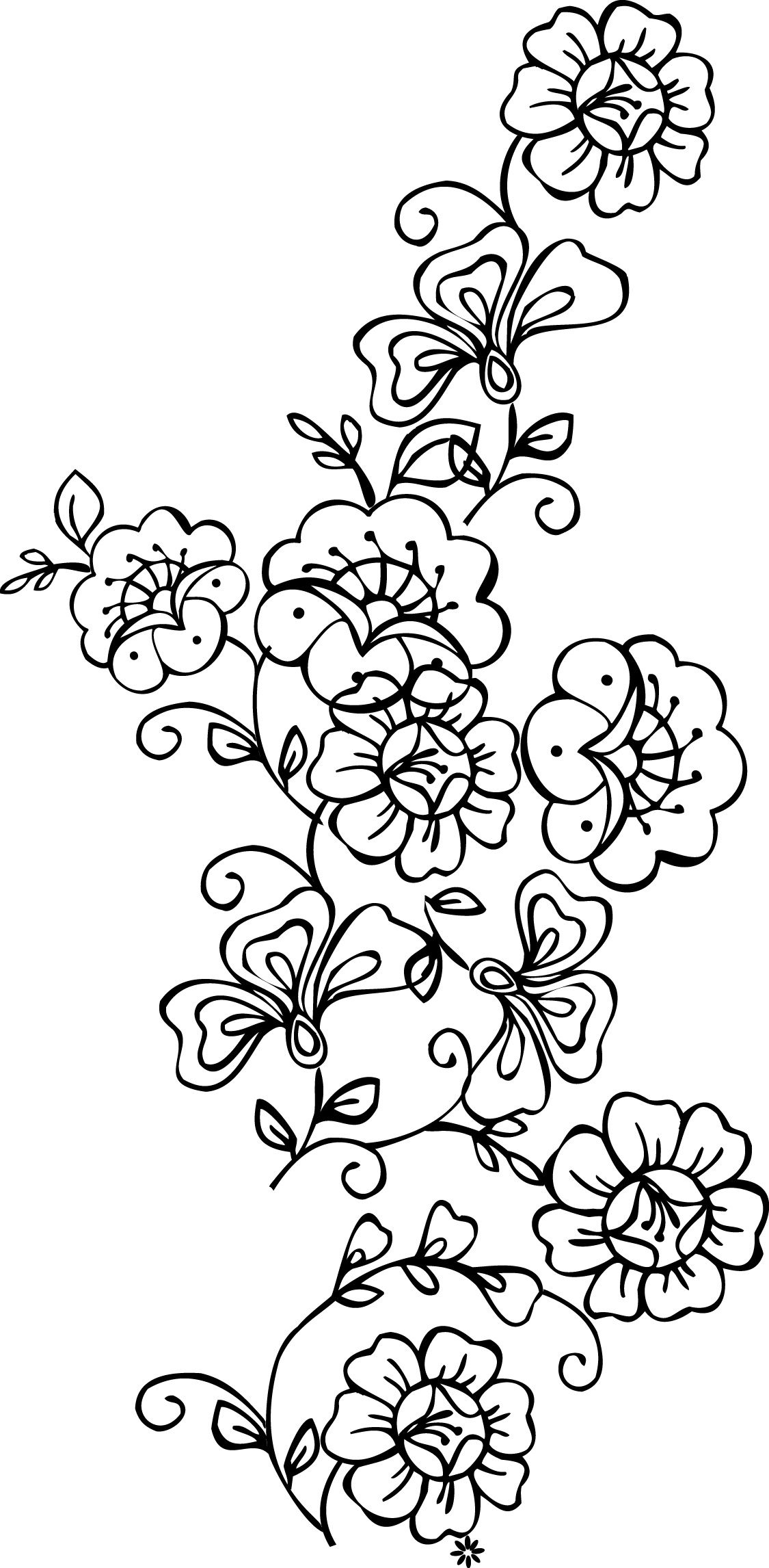 Free Printable Stencils Of Trees | Stencils Designs Free Printable - Free Printable Stencil Designs