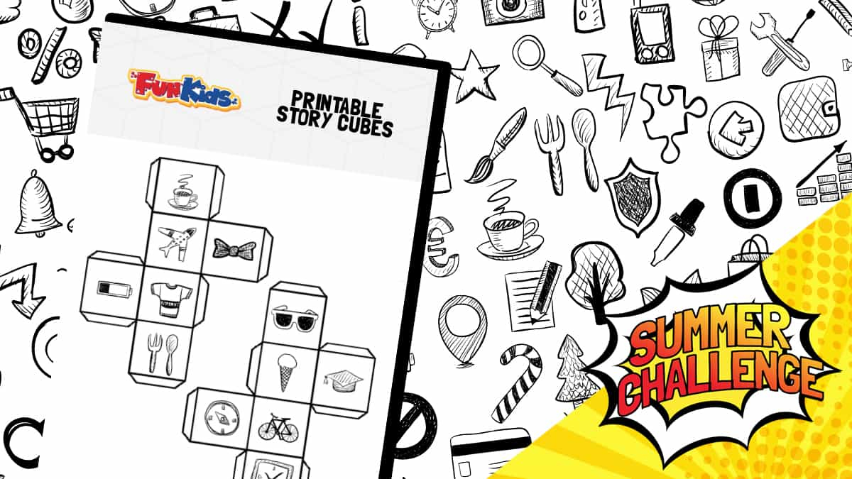 Free Printable Story Cubes To Download And Play With! - Fun Kids - Roll A Monster Free Printable