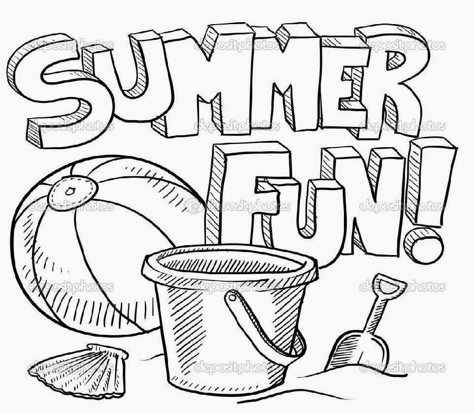 Free Printable Summer Coloring Pages - Curier.tech - Free Printable Summer Coloring Pages For Adults