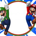 Free Printable Super Mario Bros Invitation | Mario Birthday   Free Printable Super Mario Bros Invitations