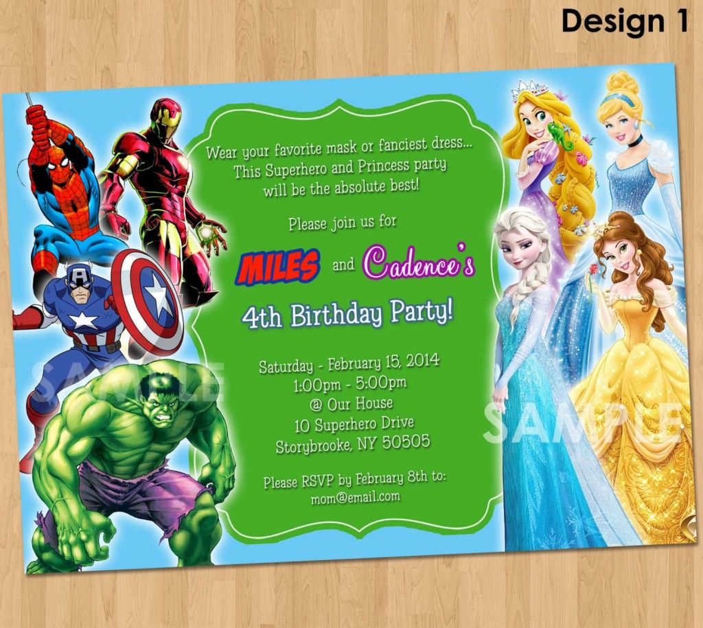 Free Printable Superhero Birthday Invitations – Bagvania Free - Free Printable Avengers Birthday Party Invitations