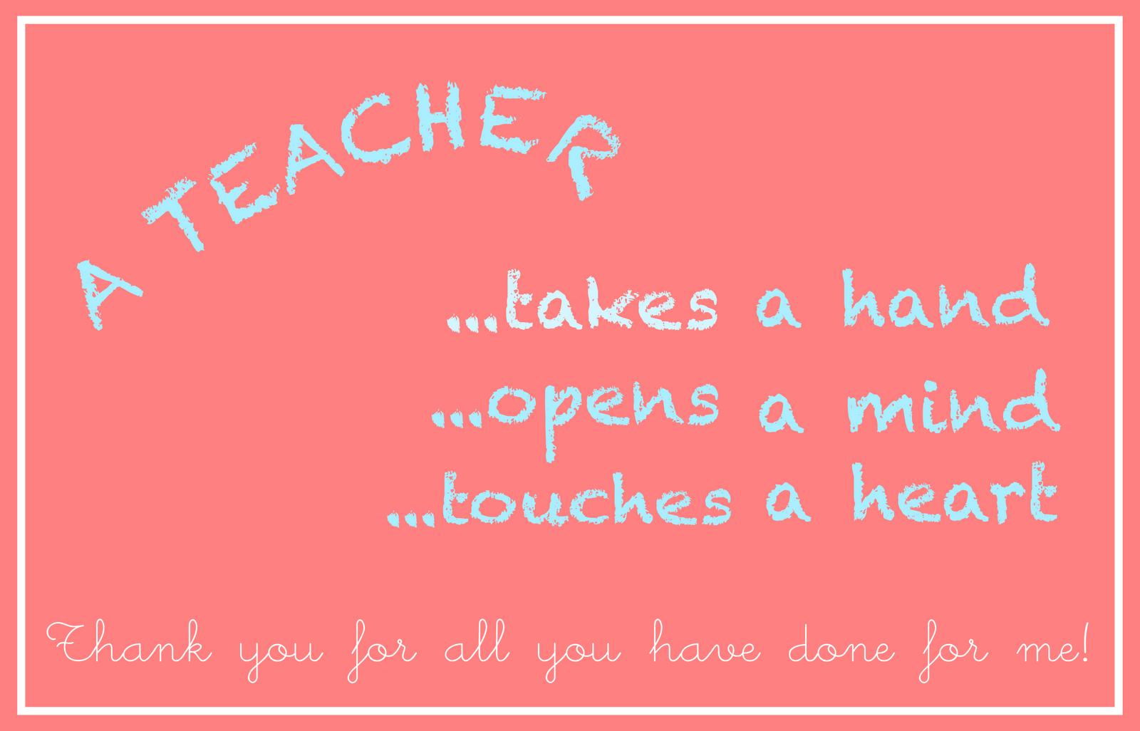 Free Printable Teacher Appreciation Card - An Lehrer Gerichtete - Free Printable Teacher Appreciation Cards