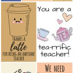 Free Printable Teacher Appreciation Thank You Cards | ✽ Back To – Free Personalized Thank You Cards Printable