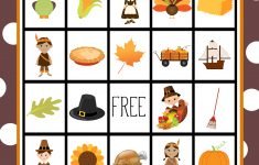 Free Printable Thanksgiving Bingo Game | Craft Time | Pinterest – Free Printable Bingo Cards For Large Groups